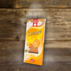 Chocolat Surfin au lait avec Žcorces d'orange