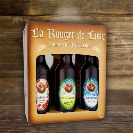 Carton de 6 bouteilles de bire La Rouget de Lisle