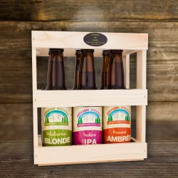 Caisse de 6 bouteilles de bire Jurassic Brewery